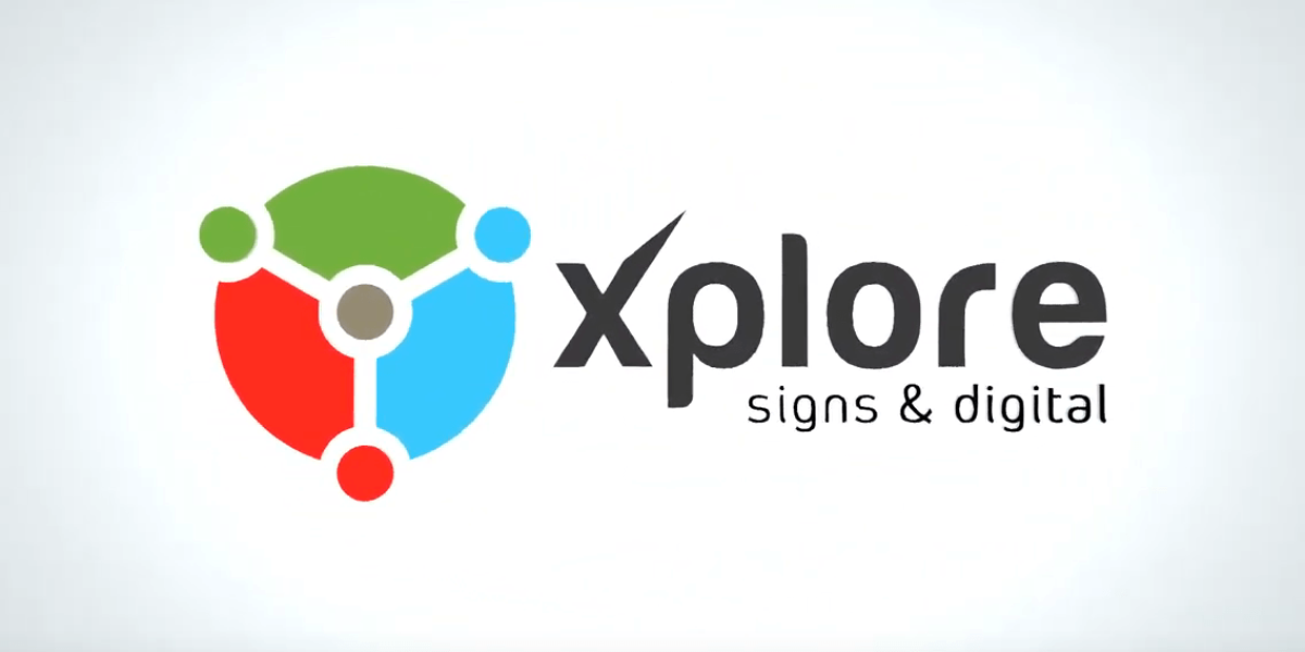 Xplore Signs & Digital — Animated Advert