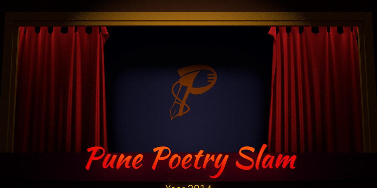 Logo & Illustrations for Pune Poetry Slam, 2014