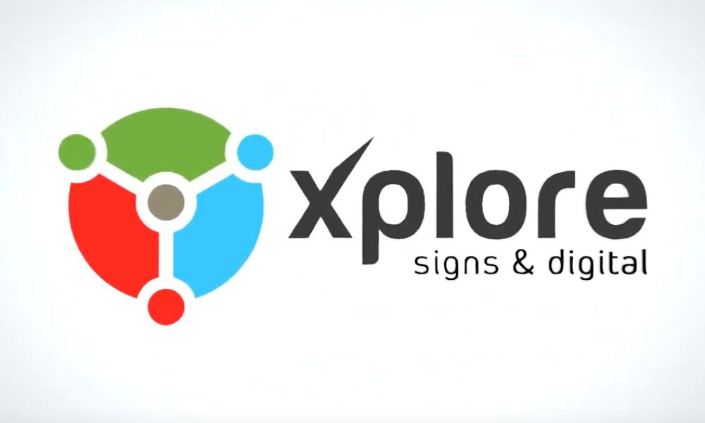Xplore Signs & Digital — Animated Advert